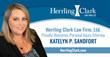 Attorney Katelyn P. Sandfort Joins Herrling Clark Law Firm Ltd.
