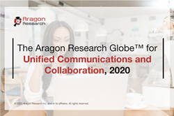 The Aragon Research Globe for Unified Communications and Collaboration, 2020