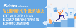 Free webinar on demand to help supply chain businesses get ready for an economic downturn