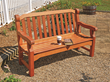 The English Garden Bench templates and plan maintain the graceful lines and old-world charm of the piece's forebears.