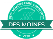 MemoryCare.com Names the Best Facilities for Senior  Memory Care in Des Moines, IA