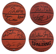 Goldin Auctions Unveils Possible One of a Kind NBA 50 Greatest Players Multi Signed Set of Four Basketballs on Its Spring Premium Auction Online