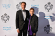 HRH Prince Emmanuel Philibert of Savoy with Gail Arbanel, Executive Director of Stuart House at the Savoy Foundation's Notte di Savoia Los Angeles Gala Benefit, April 28, 2018