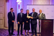 Savoy Foundation President Joseph Sciame (far right) Presents Grant Check to Sister Seline Mary Flores, C.S. JB, CEO of Providence Rest at the May 1, 2019 Providence Rest Gala Dinner