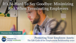 "Financial Poise™ Announces ""Minimizing Risk When Terminating Employees"" a New Webinar Premiering June 16th at 1:00 PM CST through West LegalEdcenter™"