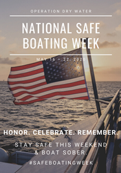 Operation Dry Water - National Safe Boating Week