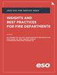 ESO Releases 2020 ESO Fire Service Index to Explore Key Trends Affecting Fire Departments Across the Country