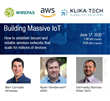 Klika Tech, Wirepas, and Amazon Web Services to Explore Solutions for Massive IoT During Online Event
