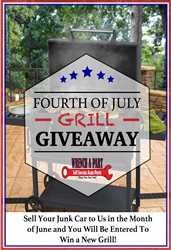 Wrench-A-Part BBQ Grill Giveaway Contest 2020