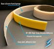Silicone Sponge and Silicone Foam Gasket Tape with DP-1001 Silicone Adhesive is Now Available from Stockwell Elastomerics