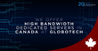GloboTech Communications introduces high-bandwidth dedicated servers