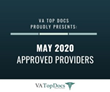 VA Top Docs Proudly Presents May 2020 Approved Providers
