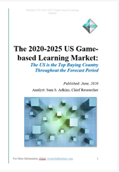 Cover of Metaari's New US Serious Game Report
