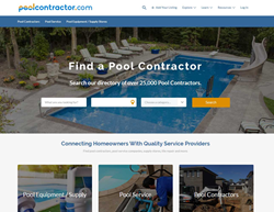 PoolContractor.com levels the playing field for Pool Builders and provides better marketing & advertising to smaller builders.
