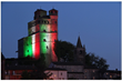 Castello di Serralunga d'Alba Illuminates as the Nation Restores Itself