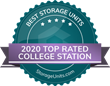 StorageUnits.com Names Top Storage Facilities in College Station, TX for 2020