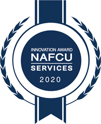 NAFCU Innovation Award Winner Seal
