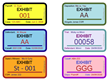 New Exhibit Master tool for the Legal industry creates highly customizable, auto-incrementing dynamic exhibit stickers for marking PDFs in Adobe Acrobat