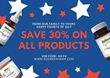 Best THC-Free CBD July 4th Weekend Sale | 30% Off All Products