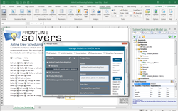 Analytic Solver users can deploy their Excel-based models to the Azure cloud, point and click without programming.