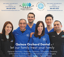 The proud team at Quince Orchard Dental Care!