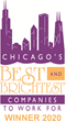 Automated Business Designs Named One of Chicago's Best and Brightest Companies to Work For® in 2020