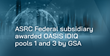 ASRC Federal Subsidiary Awarded OASIS Pools 1 and 3 Contracts by GSA