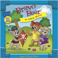 Bravo Bear children's book series addresses anti-bullying