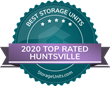 StorageUnits.com Names Top Storage Facilities in Huntsville, AL for 2020