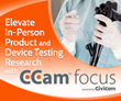 Elevate In-Person Product and Device Testing Research with CCam™ focus HD 360° Recording and Streaming