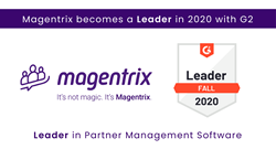 Magentrix becomes a Leader in 2020 with G2 in Partner Management software