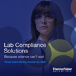 Thermo Fisher Scientific to Host the Lab Compliance Solutions Virtual Event, October 20, 2020