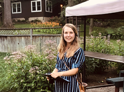 Audrey Wilke, Spring 2020 graduate in Landscape Architecture from the University of Maryland, Credit: Zandra Jia