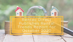 Rentec Direct Rental Trends October 2020