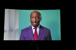 Ken Frazier, CEO of Merck, virtually accepting the Nancy and Marty Dowd Spirit of Hope Award