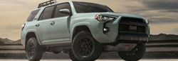 2021 Toyota 4Runner in gray