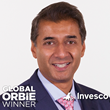 Global ORBIE Winner, Donie Lochan of Invesco