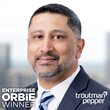 Enterprise ORBIE Winner, Pramesh Naik of Troutman Pepper