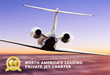"Privé Jets wins ""North America's Leading Private Jet Charter"" for third consecutive year at the World Travel Awards 2020"