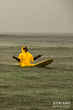 Ocean Pollution Causes Surfers To Wear Hazmat Suits