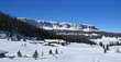 Brooks Lake Lodge is a winter wonderland for snow sport enthusiasts, offering snowmobiling, cross country skiing, snowshoeing and ice fishing to a maximum of 18 guests for the 2020/21 season.