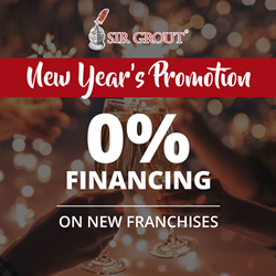 Picture of Sir Grout 0% financing promotion flyer