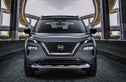 Front end of the 2021 Nissan Rogue