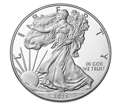 2021 American Eagle Silver Proof Coin