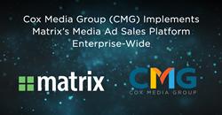CMG Implements Matrix's Media Ad Sales Platform, Monarch