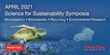 "Thermo Fisher Scientific to Host the ""Science for Sustainability Symposia,"" in April 2021"