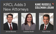 Kane Russell Coleman Logan Adds Two Experienced Litigators in Houston and a Corporate Transactional Lawyer in Dallas