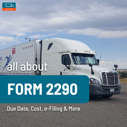 Instructions for Form 2290 Filing