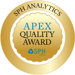 SPH Analytics awards the National APEX Quality Award to healthcare providers who demonstrate the highest level of excellence in patient satisfaction.