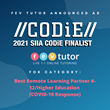 FEV Tutor Named CODiE Finalist in outstanding response to COVID-19